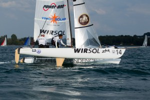 Mixed Multihull Sailing