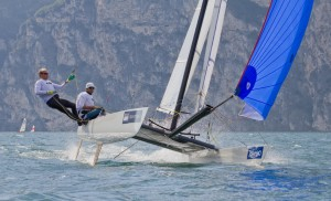Tornado Sailing Downwind - 2012 World Championships