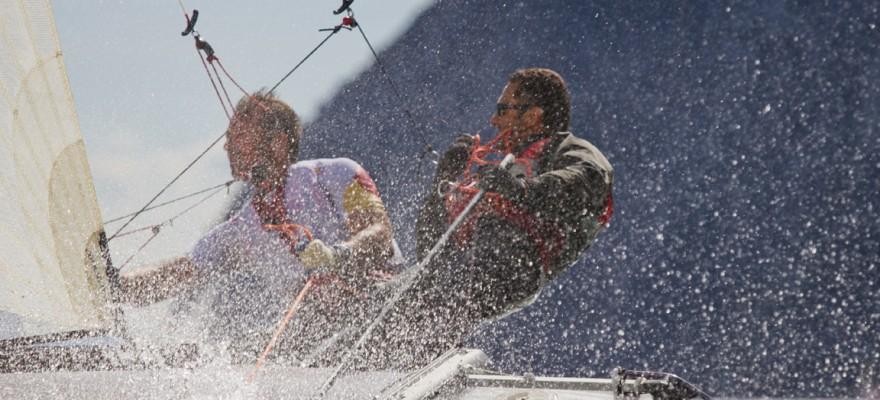 Dany and Kostas - Team Redbull Tornado Sailing Team