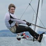 AUT President Michael Tornado Sailing
