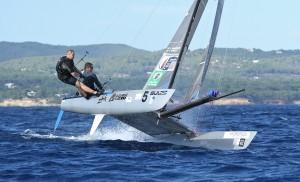 GBR424 Tornado Sailing