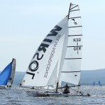 Team Gaebler Tornado Sailing Lake Lipno