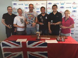 Top 3 at the UK Tornado National Championships 2017